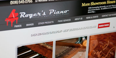 piano store website